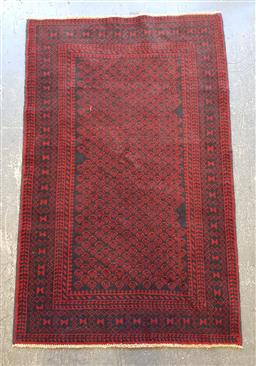 Sale 9102 - Lot 1035 - Pure wool hand knotted Persian Baluchi (130 x 82cm)