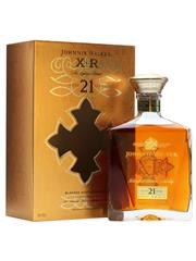 Sale 8290 - Lot 426 - 1x Johnnie Walker XR 21YO Blended Scotch Whisky - in box