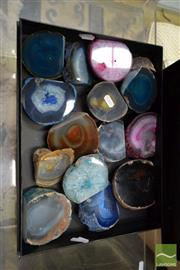 Sale 8515 - Lot 1087 - Box Polished Agate
