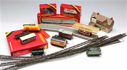 Sale 9164 - Lot 54 - Large train set collection with an itemised listing of all available pieces