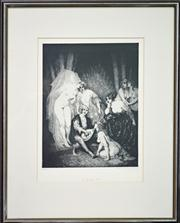 Sale 8011A - Lot 52 - Norman Lindsay (1879 - 1969) After. - The Ragged Poet 41 x 30cm