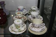 Sale 8151 - Lot 67 - Royal Albert Friendship Trio with 5 Others incl. Hammersley