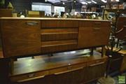 Sale 8350 - Lot 1016 - Quality 1960s Teak Sideboard