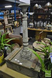 Sale 8361 - Lot 1061 - Rustic Candlestick With Box