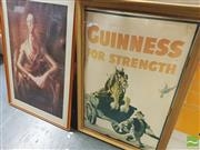 Sale 8413T - Lot 2067 - Assorted Wall Hangings (5) with Extra Frames (3)