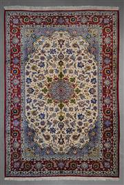 Sale 8545C - Lot 44 - Persian Isfahan 367cm x 255cm