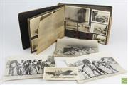 Sale 8546 - Lot 76 - Desert Campaign WWII Photo Album