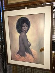 Sale 8751 - Lot 2099 - Leo Jansen - Peaches, 46 x 61cm, signed lower right -