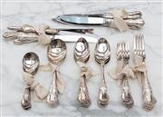 Sale 8782A - Lot 89 - A collection of Rodd silver-plated cutlery.