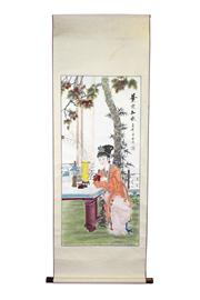 Sale 8153 - Lot 25 - Chinese Painting Scroll