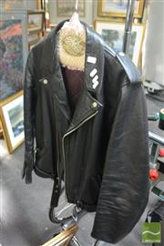 Sale 8537 - Lot 2177 - Stag Leather Jacket
