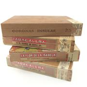 Sale 8687 - Lot 917 - Filipino Cigars including Insular, Tabacalera, & La For de la Isabela - mostly incomplete