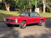Sale 8776B - Lot 3 - Mercedes-Benz Model: 280SL Pagoda Body: Convertible Year: 1970 Reg No: UNREGISTERED Ext Colour: Red       Int Colour: Bl...