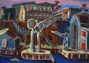 Sale 8907 - Lot 536 - Joe Frost (1974 - ) - Cockatoo Island, Midday, 2006 99.5 x 140 cm