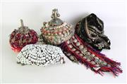 Sale 8913 - Lot 44 - A Group of Early Afghan Headdresses inc Chiefs (4)