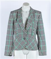Sale 9003F - Lot 71 - An Enttienne AIgner jacket in wool and silk, size 10