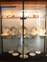 Sale 8008 - Lot 94 - Royal Doulton Orchid Tea and Dinner Wares and April Dishes