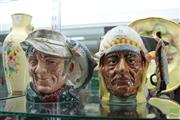 Sale 8217 - Lot 35 - Royal Doulton The Poacher & Sitting Bull Character Jugs