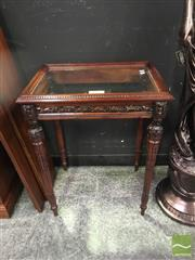 Sale 8307 - Lot 1007A - Lift Top Display Cabinet