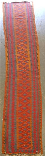Sale 8676 - Lot 1096 - Persian Kilim Runner (460 x 83cm)