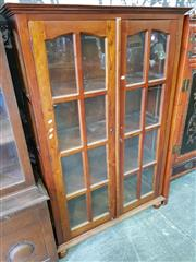 Sale 8740 - Lot 1188 - Mahogany Glass Front Display Cabinet