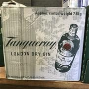 Sale 8801W - Lot 25 - 6x Tanqueray Gin, 700ml