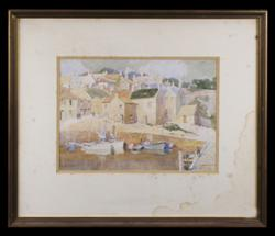 Sale 7923 - Lot 527 - C E S Tindall - Crail Fife, Scotland 24 x 34cm
