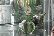 Sale 8022 - Lot 19 - Murano Signed Perfume Bottle