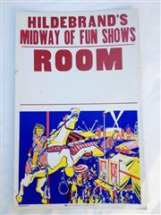Sale 8579 - Lot 14 - A vintage C1960s Carnival Midway Of Fun shows poster, H 56 x W 36cm