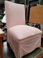 Sale 8740 - Lot 1606 - Upholstered Bedroom Chair