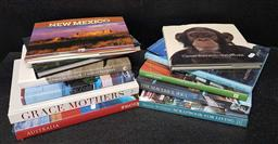 Sale 9208 - Lot 2025 - Box of Travel & Lifestyle Books incl Africa from Above