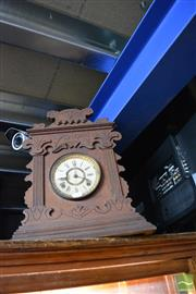 Sale 8214 - Lot 2368 - Ansonia Timber Cased Mantle Clock