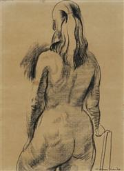 Sale 8907 - Lot 571 - Noel Counihan (1913 - 1986) - Sketch of Girl, 1960 53.5 x 39 cm