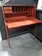 Sale 8741 - Lot 1075 - Younger Teak Desk