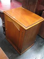 Sale 7919A - Lot 1700 - Late 19th Century Cedar Wash Stand with Hinged Top & Panel Door