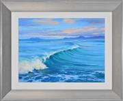 Sale 8363 - Lot 580 - Robyn Collier (1949 - ) - Incoming Swell 40 x 30cm