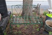 Sale 8499 - Lot 1322 - Metal 2 Seater Bench