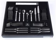 Sale 8530A - Lot 227 - A complete Strachan cutlery service for six in original box
