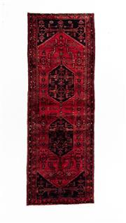 Sale 8800C - Lot 103 - A Persian Hamadan Hand Knotted Wool Pile Rug, 110 x 320cm