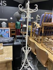 Sale 8876 - Lot 1037 - Painted Bentwood Coat Stand