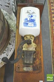 Sale 8302 - Lot 1087 - Wall Mount Coffee Grinder