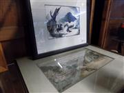 Sale 8429A - Lot 2089 - Two Framed Decorative Prints After A Henry Fullwood and Another Unknown Artist