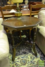 Sale 8520 - Lot 1094 - Hexagonal Occasional Table