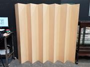 Sale 8724 - Lot 1006 - Vintage Ply Blondewood Room Divider