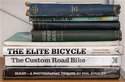 Sale 9160H - Lot 235 - A quantity of books on ships and bikes