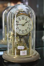 Sale 8327 - Lot 10 - German Dome Case Clock