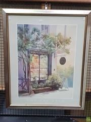 Sale 8595 - Lot 2072 - Judith Roberts The Bay Tree decorative print, 90 x 74cm (frame)