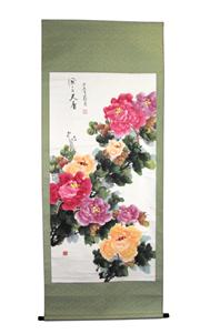 Sale 8153 - Lot 28 - Chinese Painting Scroll