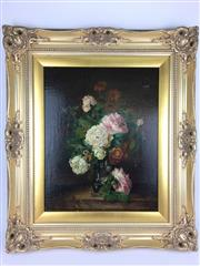 Sale 8607R - Lot 58 - Artist Unknown, signed - Oil on Board (Minor A/F) (48 x 36cm)