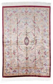 Sale 8800C - Lot 106 - A Persian Qom Pure Silk Pile Hand Knotted Floor Rug. Pin Point Quality, 147 x 219cm